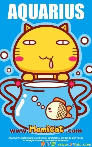 可爱猫咪图片6    星座阴阳性    阳性:白羊座,双子座,狮子座,天秤座