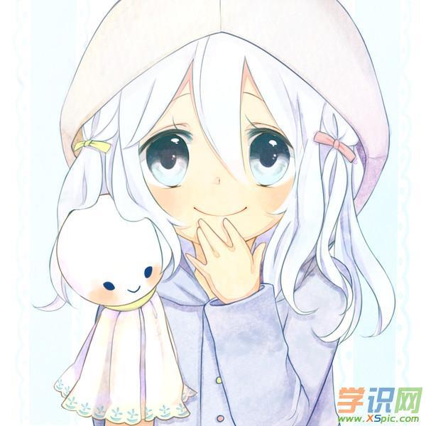 qq头像女生背影漫画图片    3.铅笔画漫画qq头像女生图片    4.