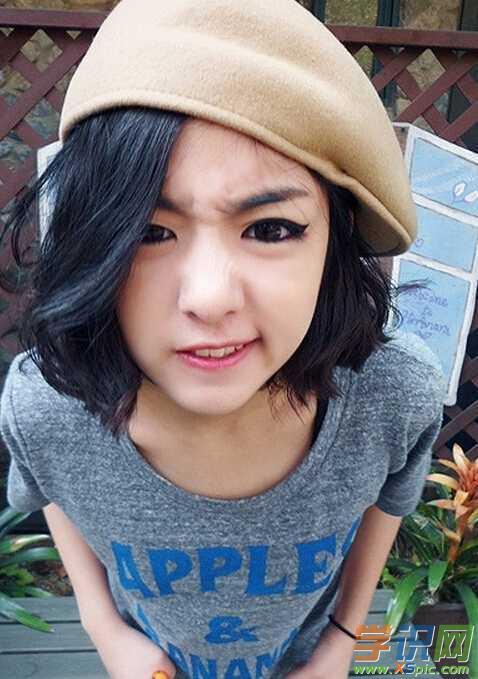韩国女生可爱短发发型 韩式可爱短发发型女