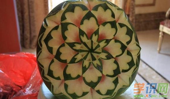 简单的水果蔬菜雕刻图样大全