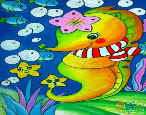 小学生六年级美术绘画图片