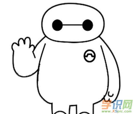 """超能大白简笔画图3   超能大白简笔画图4   超能大白简笔画图5   超能大白简笔画图6   看过超能大白简笔画大全的人还看:   机器人,是一个体型胖胖的充气机器人,因呆萌的外表和善良的本质获得大家的喜爱,被称为""""萌神""""."""