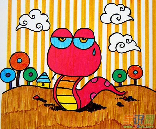 幼儿园小动物绘画图片_幼儿园小动物绘画作品