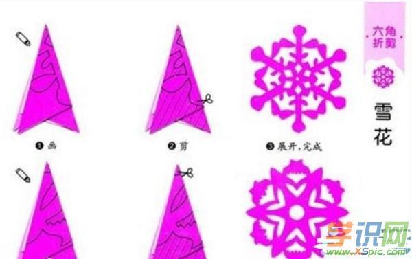 简单窗花剪纸图案大全及方法 简单窗花剪纸步骤图解图片