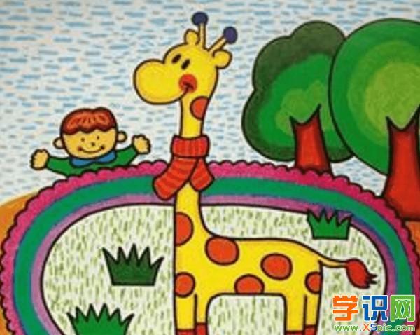 小学生动物绘画大全_小学生美术绘画动物