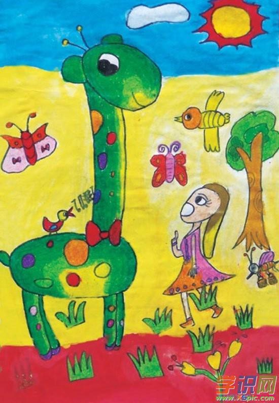 学识网 爱好 学画画 风景画     研究儿童绘画的特点,首先要了解儿童