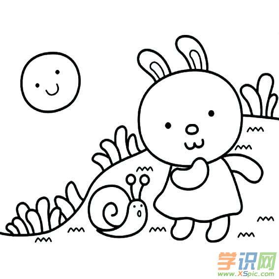 儿童简笔画大全:动物世界    3.兔子简笔画教程    4.