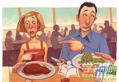 梦见与家人一起吃肉
