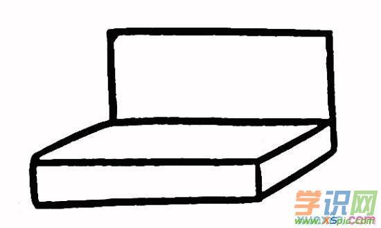 文具盒简笔画步骤