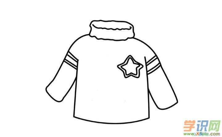 幼儿简笔图画----毛衣简笔画