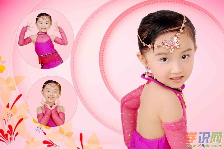 幼儿舞蹈化妆图片 幼儿园小朋友化妆图片大全
