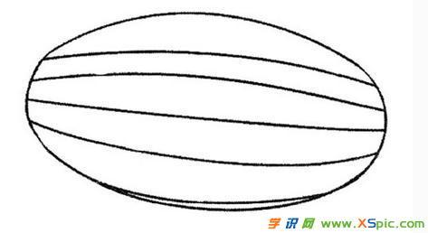 椭圆形简笔画图片