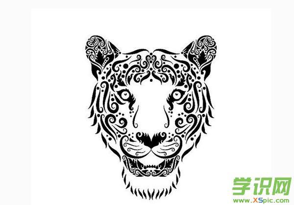 动物的黑白装饰画欣赏