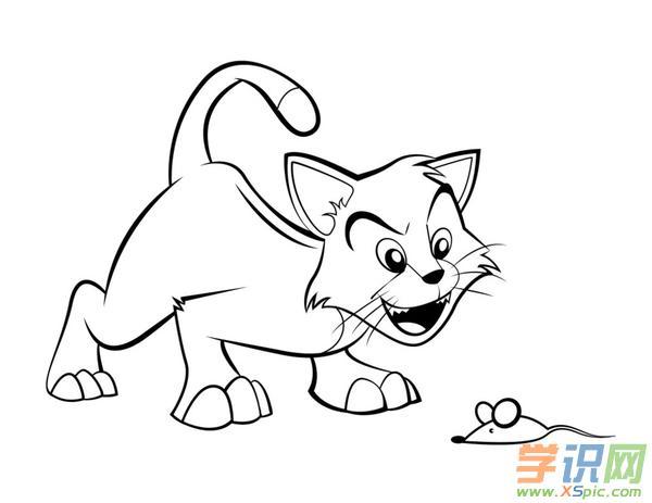 好看的动物儿童简笔画作品图片大全