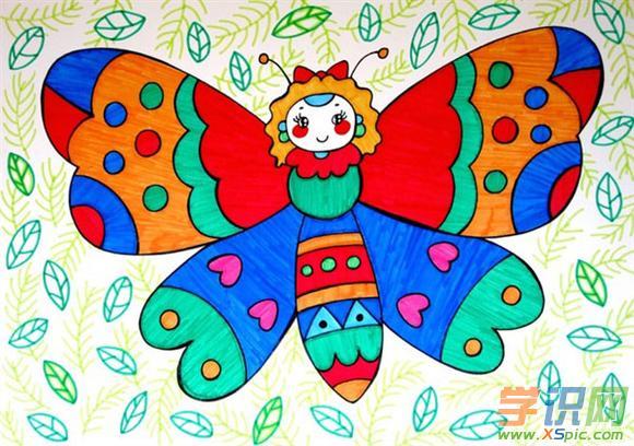 儿童画画大全简单漂亮 5岁儿童绘画作品