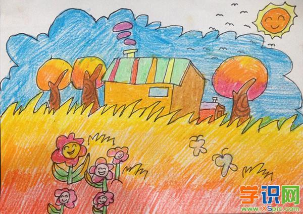儿童画秋天图片大全 秋天的图画