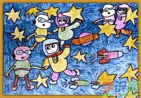 六年级绘画作品图片大全 六年级绘画作品图片素材