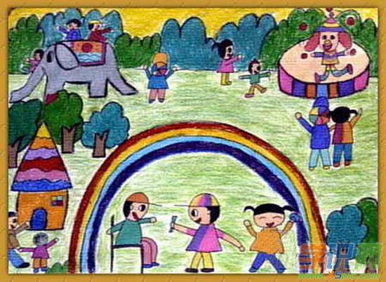 六年级绘画获奖作品风景画