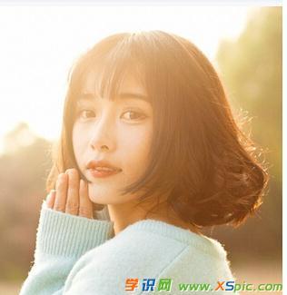2017流行圆脸短发发型图片_最新圆脸女生短发发型