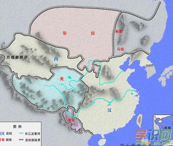西汉军队编制