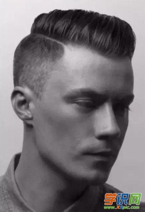 大脸男士短发发型图片 大脸男生适合短发发型 适合男士大脸的发型图片