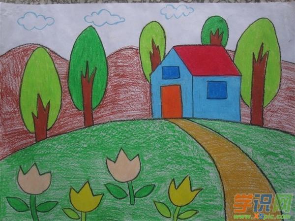 幼儿园大班获奖绘画作品 幼儿园大班获奖绘画图片