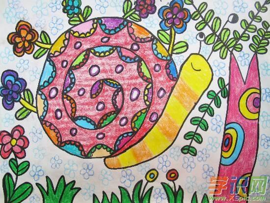 幼儿园春天绘画作品