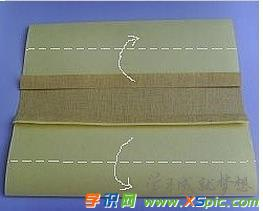 布匹艺顺手工创造包书皮的教养程 怎么做书皮