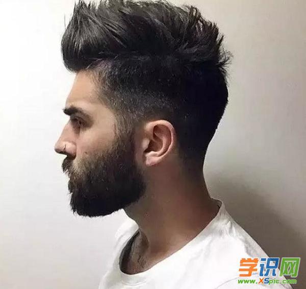 2017男士短发铲两边 两边剃掉的发型 男士发型两边剃光2017图片