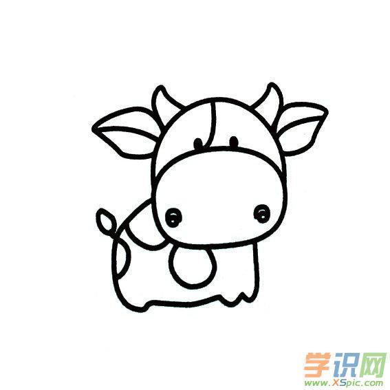 12生肖简笔画图片大全_12生肖卡通简笔画