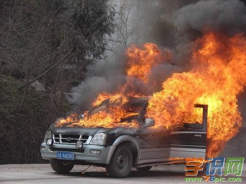 梦见自己开着车车着火了好不好