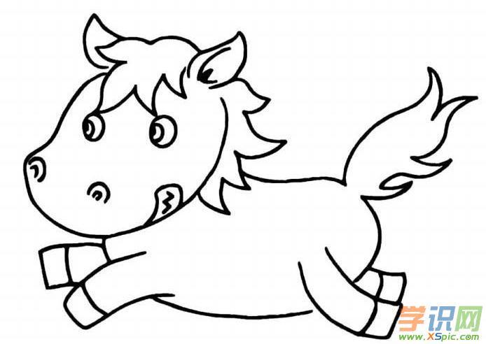 各种小动物简笔画_可爱小动物简笔画