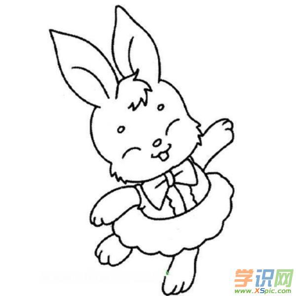 可爱小动物简笔画图片展示   关于动物的故事   保护环境之卖棉花