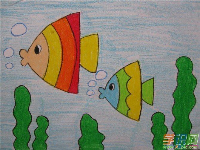 儿童彩色铅笔画图片五 彩铅技法是快速表现技法之一 水溶性彩铅的用法:要充分体现出水溶性彩铅的特色,也就是将一幅彩铅稿画的如同水彩画一样华丽精致,有三个办法: 一.用彩铅绘画完成后,加水便成为水彩画; 二.用彩铅画完后,使用喷雾器喷水; 三.将画纸先涂一层水,然后再在上面用彩色铅笔作画。
