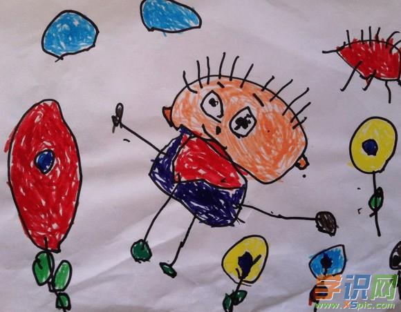 幼儿园小班简单绘画图片 幼儿园小班简单绘画素材图片