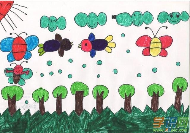 """看了""""幼儿园小班绘画比赛作品""""后,小编分享""""美工活动:蚕豆造型"""""""