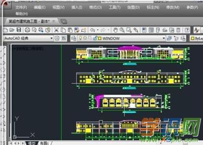 cad画法标号画_cad轴号的轴线设计室做的装修