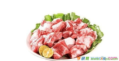 猪小排的食疗功效和作用