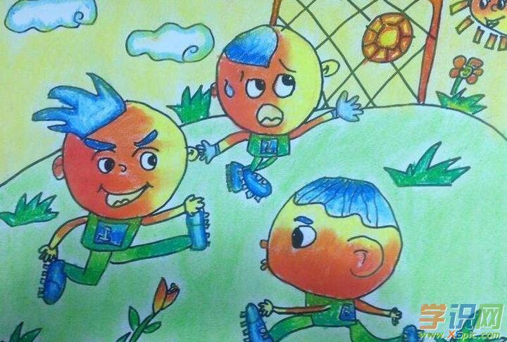 三年级六一儿童节的画