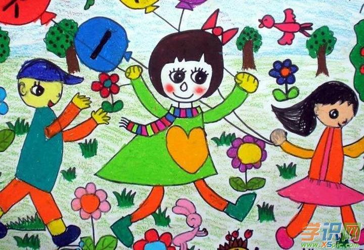 【六一儿童节画画欣赏:4】