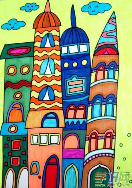 六一儿童节简单图画 欢庆六一儿童节简笔画 六一儿童