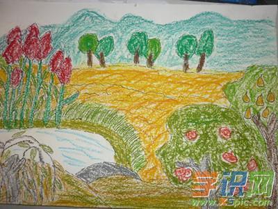 关于秋天的儿童画画图片大全