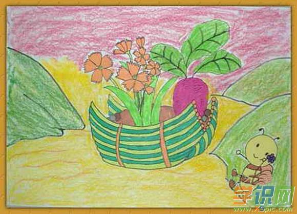 幼儿园小朋友绘画作品图片图片