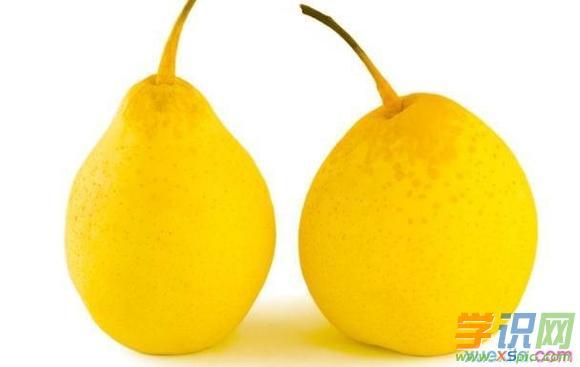 梨子有哪些吃法与相关功效