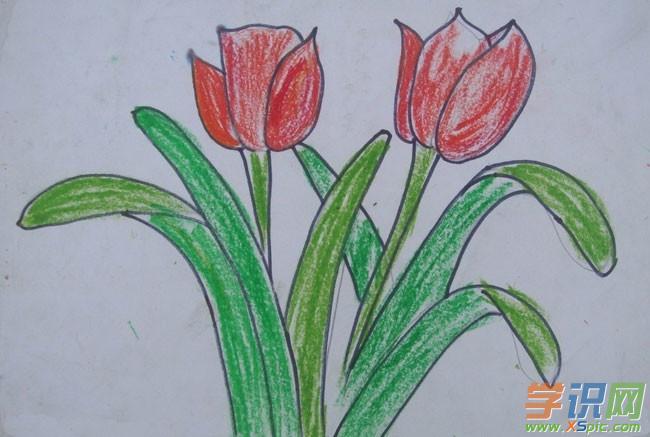 五年级风景画画图片_五年级风景画画作品