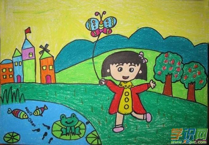 儿童简单人物画画图片     5.儿童画人物画大全     6.