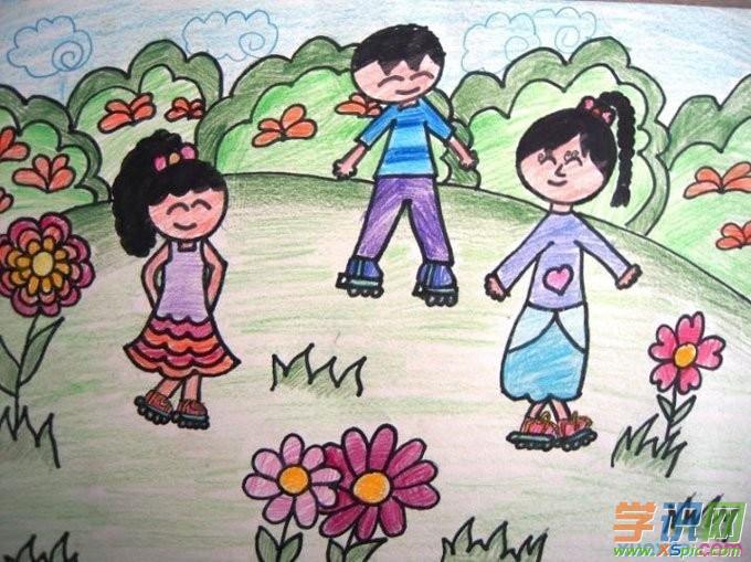 美术活动是学校所重视的课程,,他们通过自己的学习和老师的指导,绘画出一幅幅精美的儿童画作,这些儿童画作,更应该说是出自自己的内心。下面是学识网小编为你带来的儿童人物画画,欢迎欣赏学习。