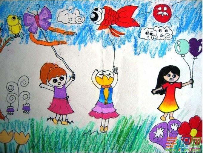 儿童人物画欣赏