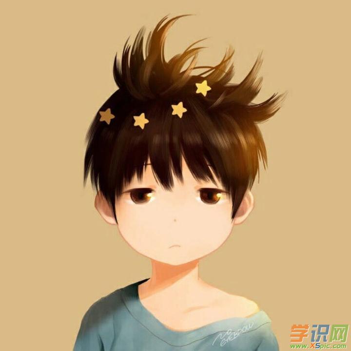 qq头像男生可爱呆萌动漫