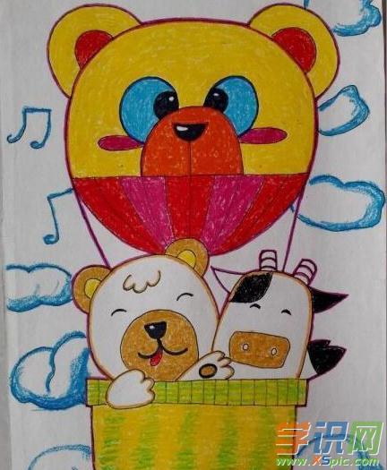 动物绘画卡通图片